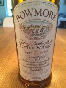 Bowmore 1971 21 years old - OB