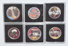 The Netherlands - 5 and 10 euro 2002/2015 (7 different ones) - silver and coloured