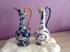 Two ceramic vases by Hubert Bequet Quaregnon