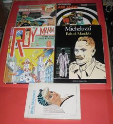 Micheluzzi, Attilio - 5x comics volumes in Italian language