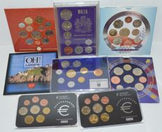 Europe – 8 different year sets, 1972-2005, miscellaneous.