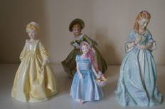 Royal Worcester, Sweet Anne and Grandmother Dress and Royal Doulton, Wendy figurines