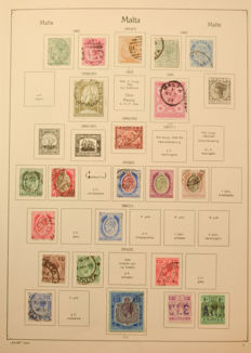 Malta 1885/2003 – Collection on stock pages.