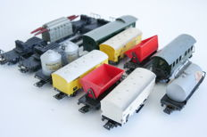 Märklin H0 - 11 Various freight carriages