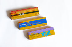 Various Kodak films 120, 135