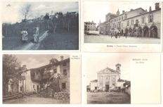 LOT OF 120 POSTCARDS SMALL FORMAT OF PIEDMONT/LOMBARDY