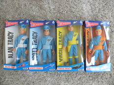 Thunderbirds-Matchbox-24 cm/10 inches tall-1994-TRACY brothers Virgil, Scott, Allan and Gordon