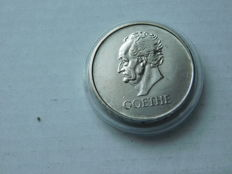 Weimar – 3 RM D – 1932 – 100 deaths day of Johann Wolfgang von Goethe – silver