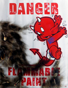 Benny The Kid - Flammable Paint