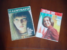 Space in 2 vintage magazines