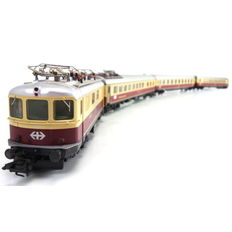 Märklin H0 - 26557 - 4-piece 'Bavaria' TEE train set of the SBB