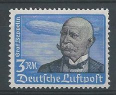German Reich 1934 - Airmail Graf Zeppelin - Michel 539 y