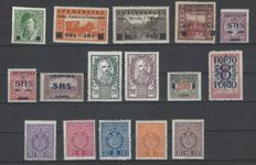 SHS Kingdom and Yugoslavia, 1918-1958 – collection