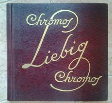 Liebig Chromos album complete with 300 chromolithographs - 1950s