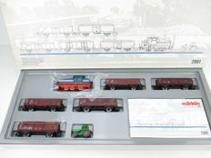 Märklin H0 - 2861 - Beet-train set of the DB DHG-500