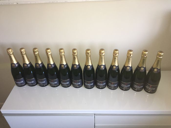 Champagne Lanson Black Label Brut - 12 bottles (75cl)