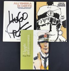 "Pratt, Hugo - Lot of 3 volumes of ""Corto Maltese"""