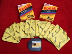 17 films Kodak DISC Kodacolor gold 1993