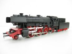 Märklin H0 - 3097 - Steam locomotive with pulled tender BR 23 of the DB