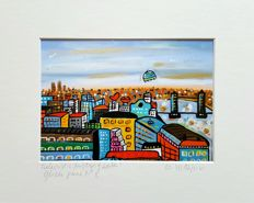 Maria Luisa Azzini - Futuristic Rooftops of London