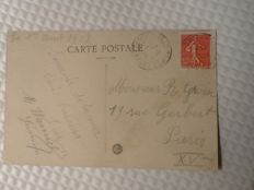 French and belgium, postcards, new and old,231 pieces
