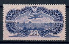 France 1936 - Airmail Yvert PA15 MH