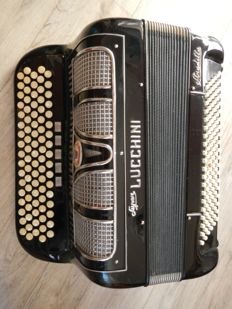 Accordion CHROMATIC 120 BASS LUCCHINI SUPER from 1974