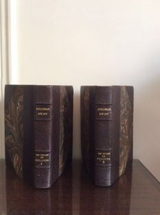 Jonathan Swift - Les Voyages de Gulliver - 2 volumes - 1930