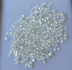 Lot of natural diamonds ct. 46.15