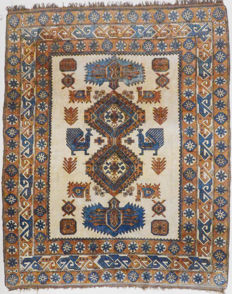 Turkish carpet, Kars, 340 x 285 cm.