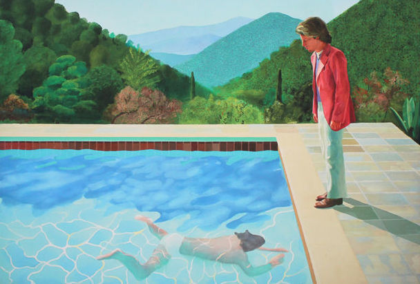 David Hockney - Portrait of an Artist (Pool with Two - Catawiki