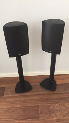 Loewe Linn L15 high-end speakers on stands in neat condition