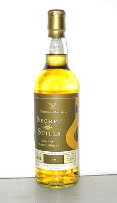 Secret Stills 1990 - 18 yers old - Islay - 70cl - 45% - Gordon & MacPhail