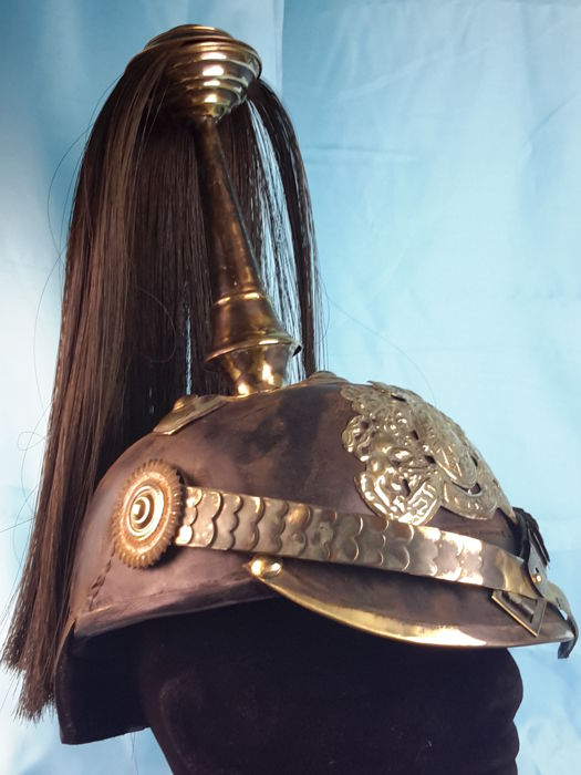 "Germany - German Imposing Parede Helmet - "" Pickelhaube"" - Excellent Reproduction"