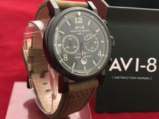 AVI-8 Hawker Hurricane Pilot Chronograph Gift Set- Herenpolshorloge - Ongedragen, in nieuwstaat