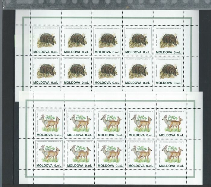 Europe – Batch of stamps, blocks and covers