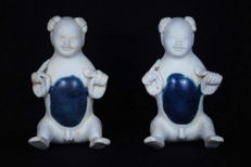 Set of rare 'porcelain boys' – China – Circa 1822 (Tek Sing Cargo)