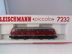 Fleischmann N - 7232 - Diesel locomotive BR210 of the DB (ex V160)