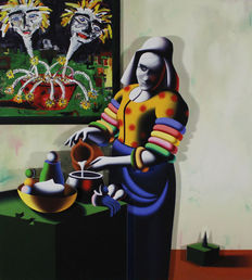 Mark Kostabi - The Transfiguration
