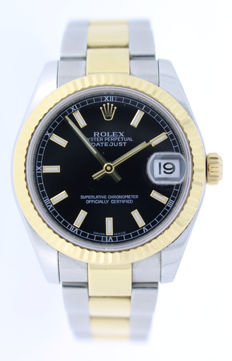 Rolex — Datejust Midsize Black — 178273 — Women — 2011-present