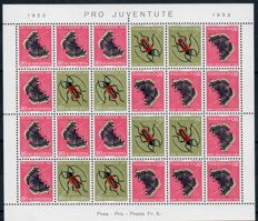 Switzerland 1940/1955 – Collection of blocks and sheets