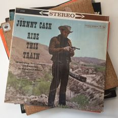 Johnny Cash, collection of 6 vintage LPs