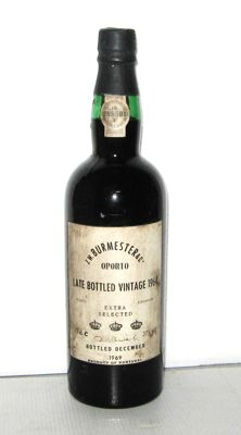 "1964 Late Bottled Vintage, Burmester ""Extra Selected"", Bottled 1969 - 1 bottle"