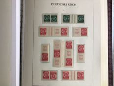 German Reich, 1933-1941, collection of combinations between Michel K17 and W157