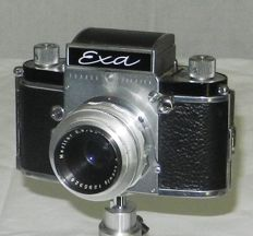 Camera EXA type 6 with rare lens MERITAR