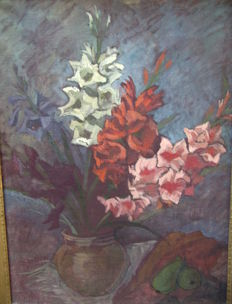 Unknown artist - Flower Still Life