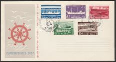 The Netherlands 1957 – FDC Summer – NVPH E29, with expert certificate