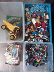 Assorted - 15 kg of Lego including Star Wars - Indiana Jones + City