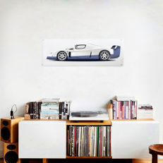 Collection plexiglass print Maserati MC12 - 150 x 50 cm