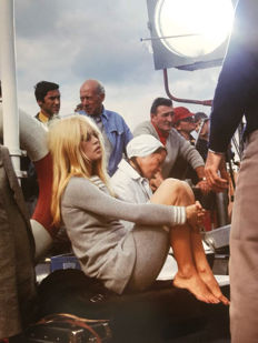 Unknown/Keystone-France/Gamma-Keystone - 'Brigitte Bardot On Set' - Scotland - 1967